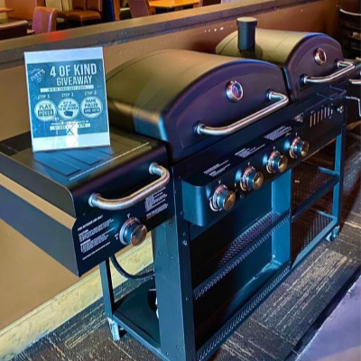 Joeys Tavern Monthly Giveaway BBQ Grill