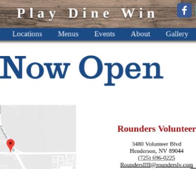 Rounders Bar Volunteer Now Open!!!