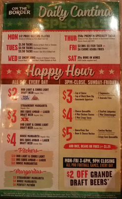 on-the-border-happy-hour-specials-food-drinks