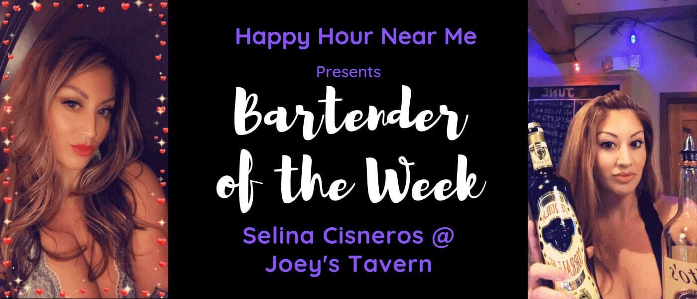 Bartender of week Selina Cisneros