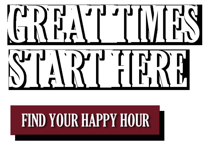 Great times start here! Find a happy hour near me - Las Vegas, Henderson, Summerlin NV