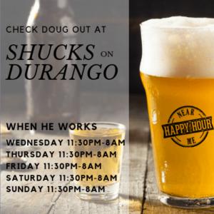 Dougie-Shucks-Durango-schedule