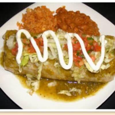 El Antojo San Diego Burrito