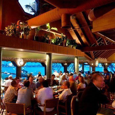 Harbor House Seafood San Diego Interior