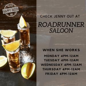 Jenny-Roadrunner-schedule