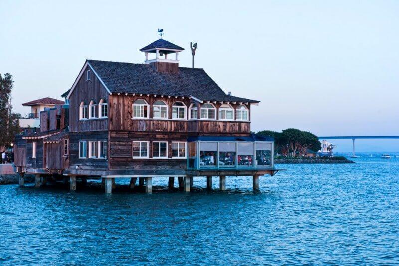Pier Cafe San Diego Sea Port Village