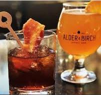 Alder & Birch Cocktails & Dining Drinks
