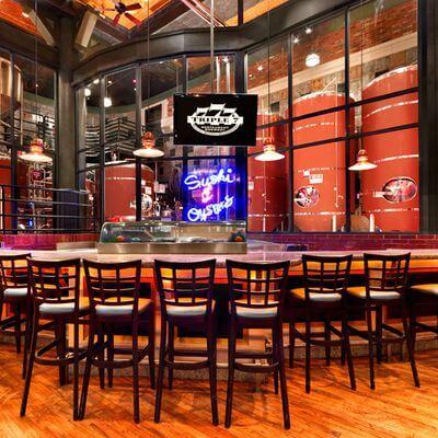 Triple 7 Downtown Las Vegas Bar