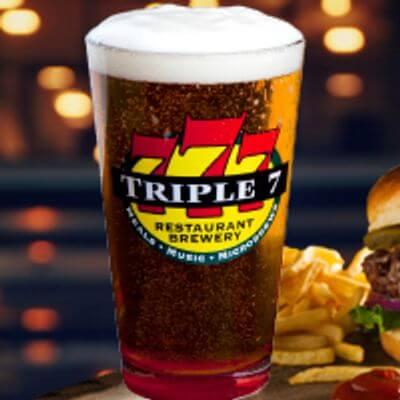 Triple 7 Downtown Las Vegas Beer