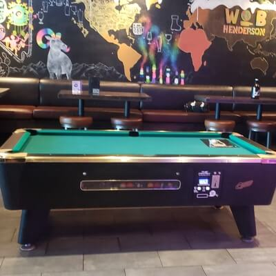World of Beer Pool Tables